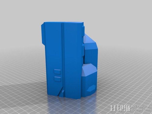 Vagyr Destroyer飞船 3D模型  图3
