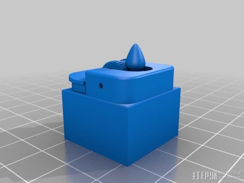 比克打火机 3D模型  图1