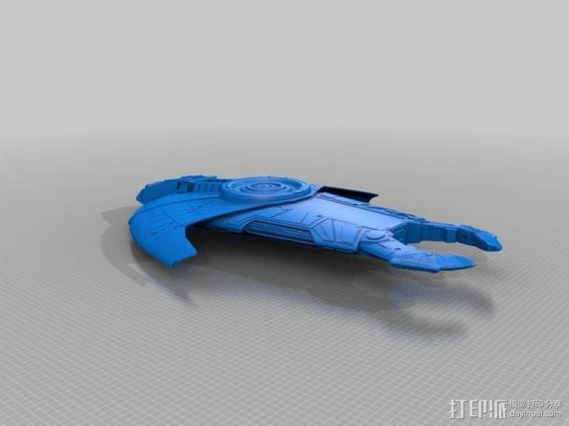 卡达西人星际飞船 3D模型  图1