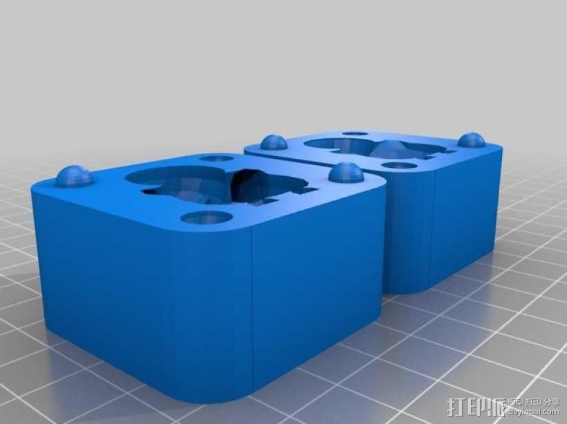 可达鸭模具 3D模型  图2