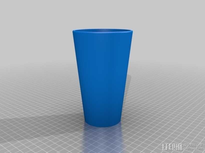 杯子 水桶 3D模型  图1