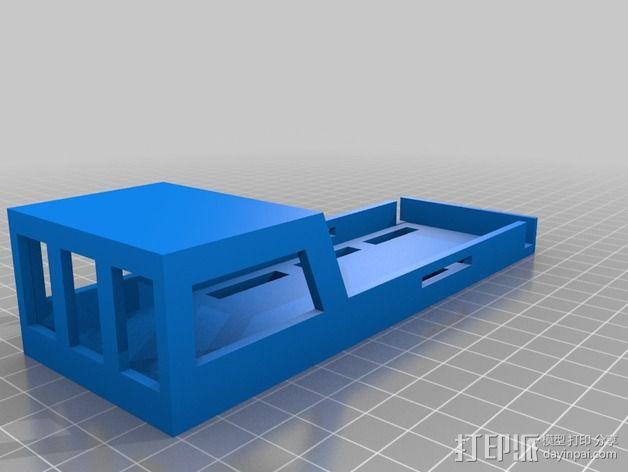3S锂电池套 3D模型  图1