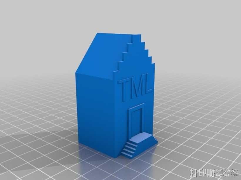 研究所建筑模型 3D模型  图2