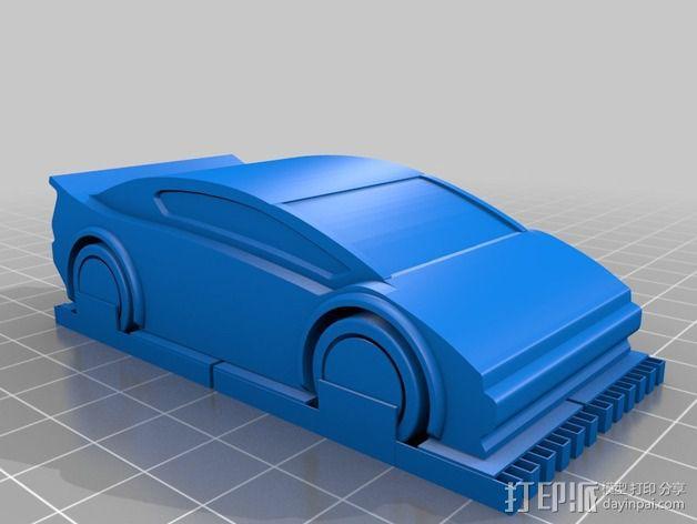 运动跑车 3D模型  图2