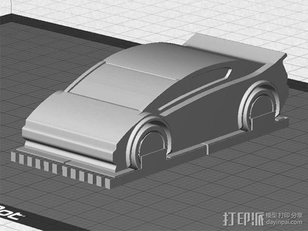 运动跑车 3D模型  图5