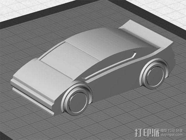 运动跑车 3D模型  图3
