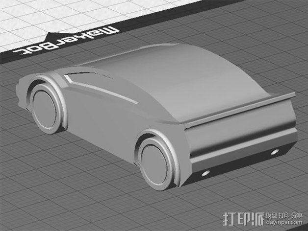 运动跑车 3D模型  图4
