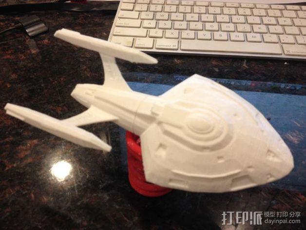 星际争霸新星级星舰 3D模型  图2