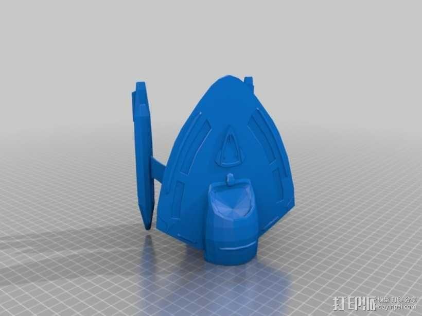 星际争霸新星级星舰 3D模型  图1