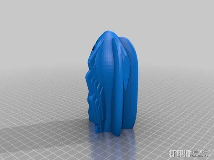 Retro 58火箭 3D模型  图7