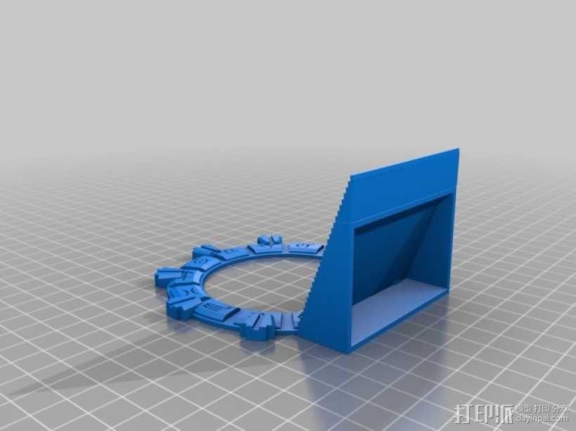 星际之门 3D模型  图1