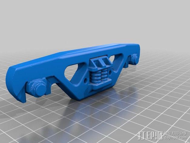 铁路转向架 3D模型  图2