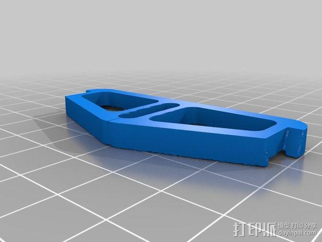 铁路转向架 3D模型  图3