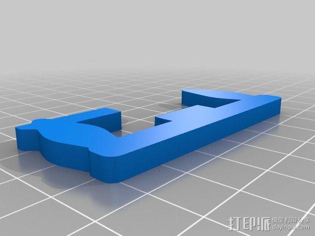 铁路转向架 3D模型  图6