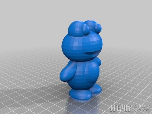 青蛙 3D模型  图3