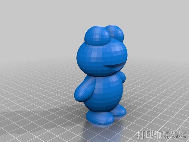青蛙 3D模型  图4