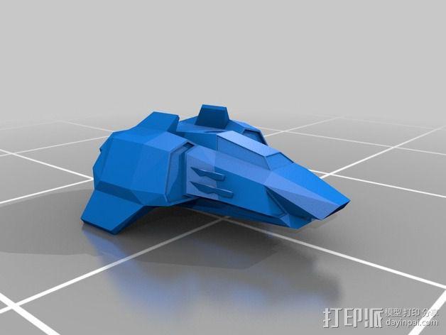 Magnum AHT战斗机 3D模型  图1