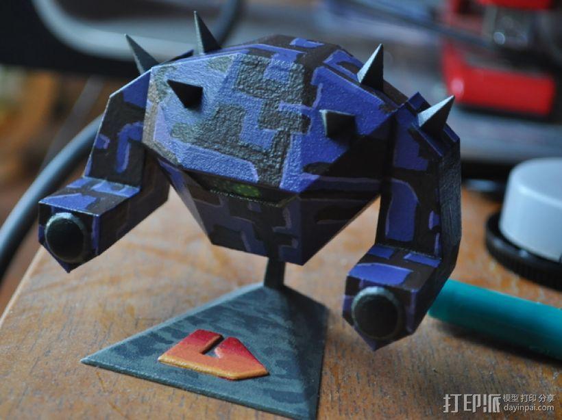 战锤 巨人战士 3D模型  图1