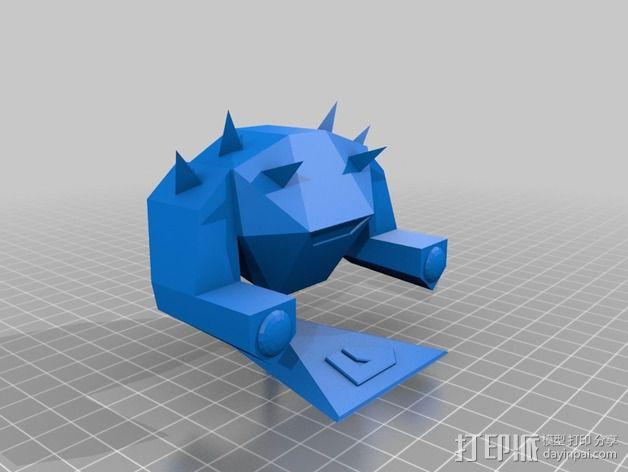 战锤 巨人战士 3D模型  图2