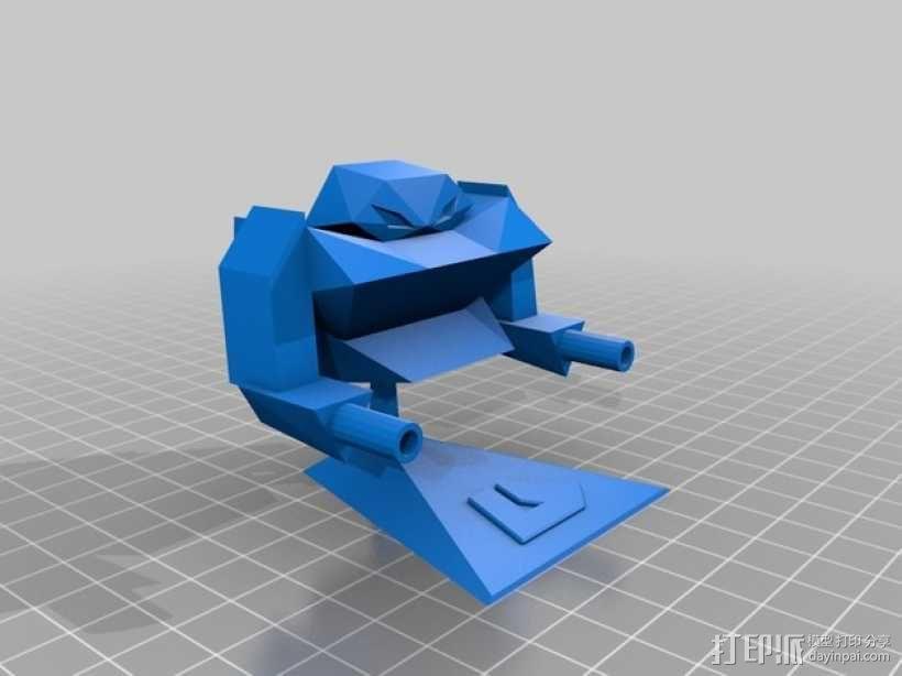 机器人浩克 3D模型  图2