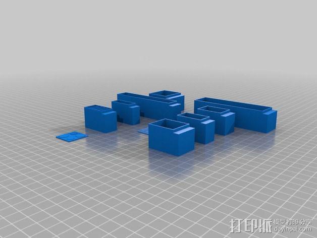 厨房 厨房家具 3D模型  图5