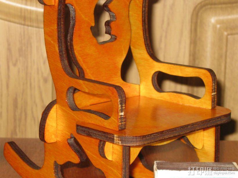 玩具椅子 3D模型  图1