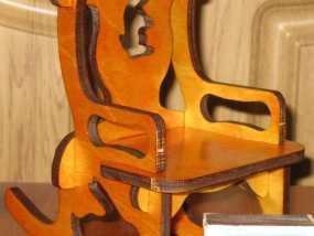 玩具椅子 3D模型