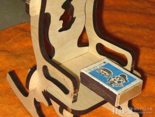 玩具椅子 3D模型  图2