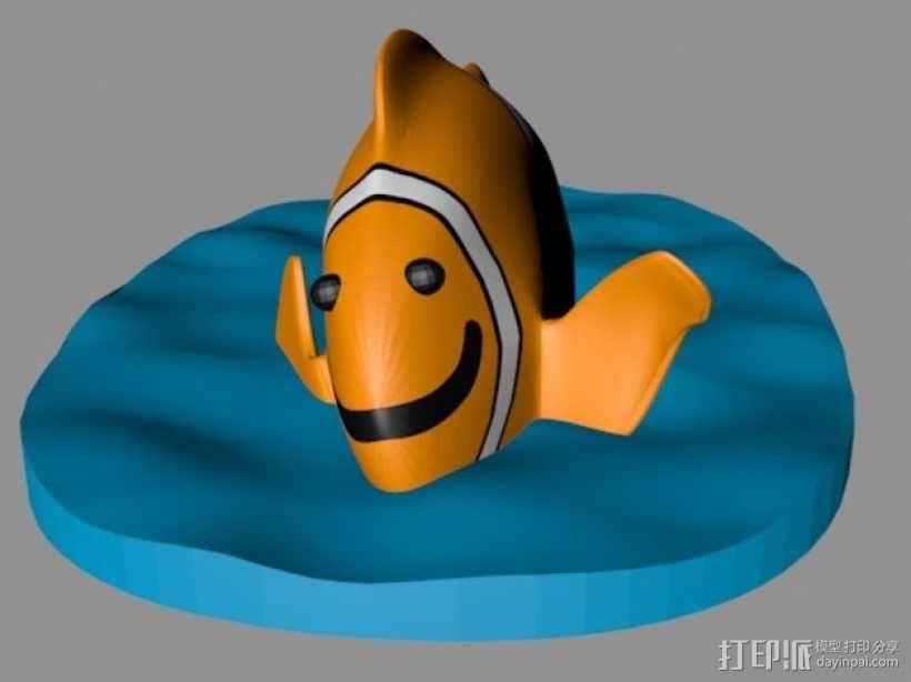 小丑鱼 3D模型  图1
