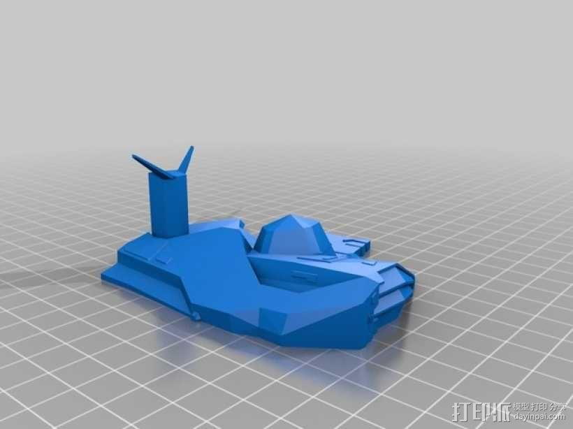 无畏舰 3D模型  图2