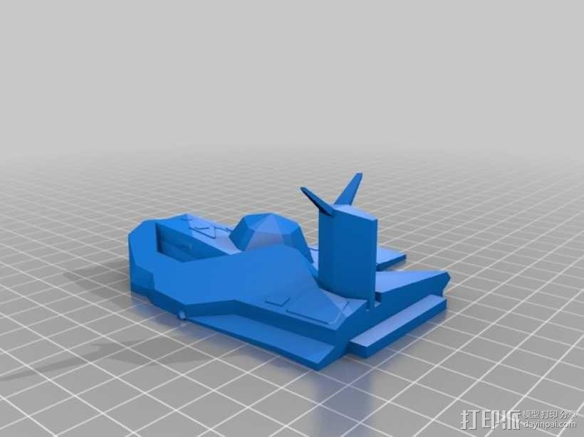 无畏舰 3D模型  图4