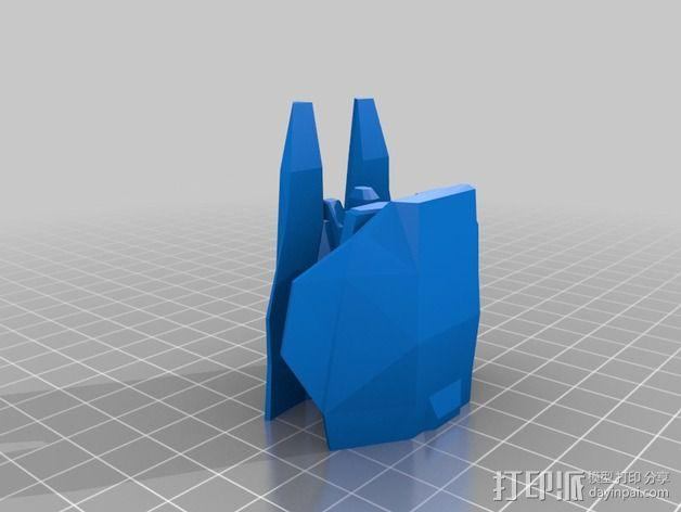 Hiigaran Interceptor海格拉拦截机 3D模型  图2