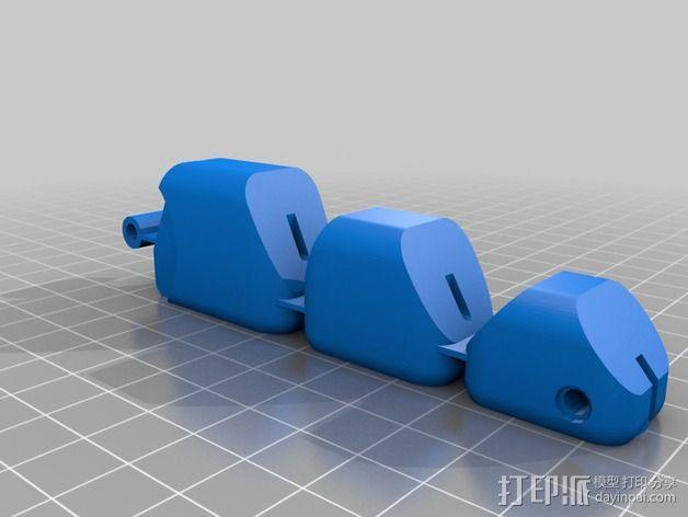 手指 3D模型  图2