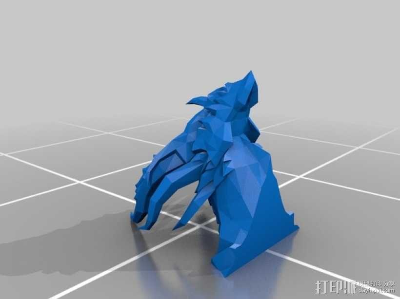 死亡之翼巨龙 3D模型  图2