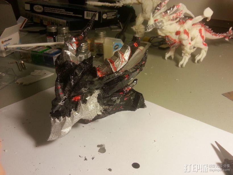 死亡之翼巨龙 3D模型  图3