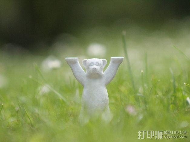 巴迪熊 3D模型  图2