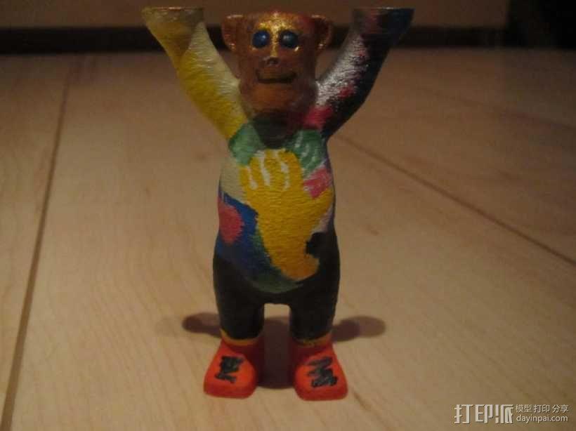 巴迪熊 3D模型  图3