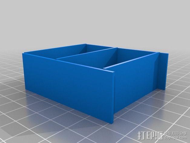 书橱 书架 书柜 3D模型  图2