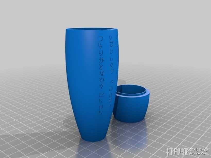 普罗米修斯花瓶 3D模型  图2