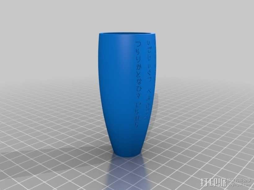 普罗米修斯花瓶 3D模型  图3
