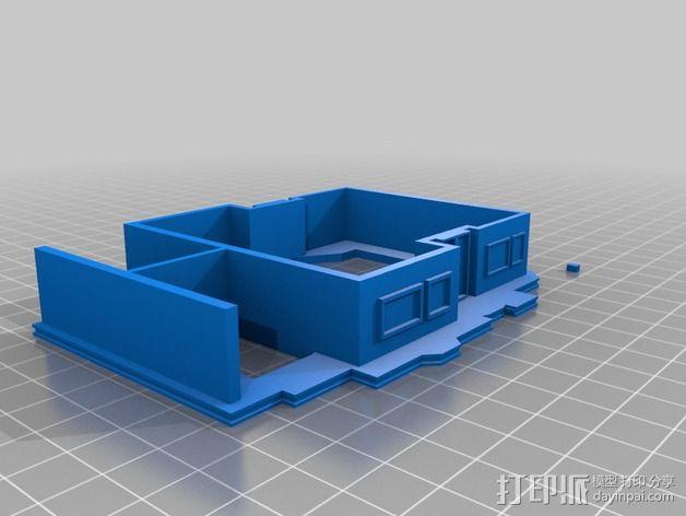 大厦 3D模型  图3