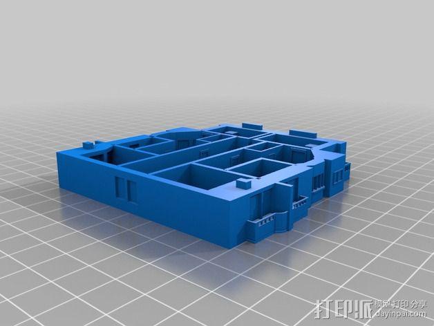 大厦 3D模型  图4