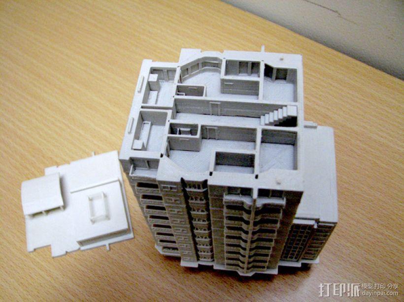 大厦 3D模型  图8