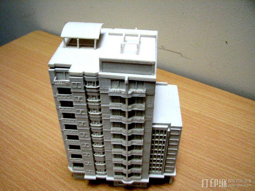 大厦 3D模型  图7