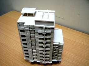 大厦 3D模型