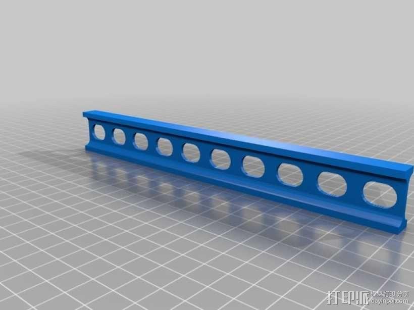 工字梁  3D模型  图2
