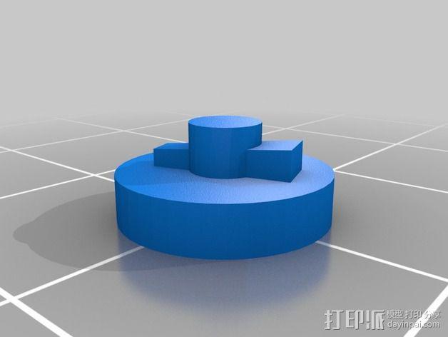 船上的加农炮 3D模型  图4
