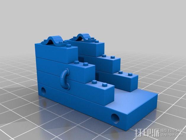 船上的加农炮 3D模型  图5