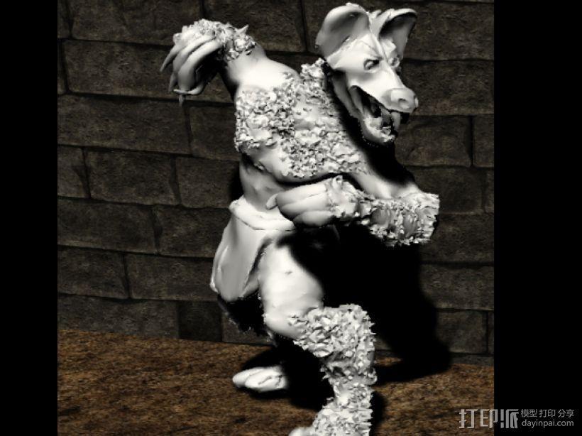 豺狼战士 3D模型  图5