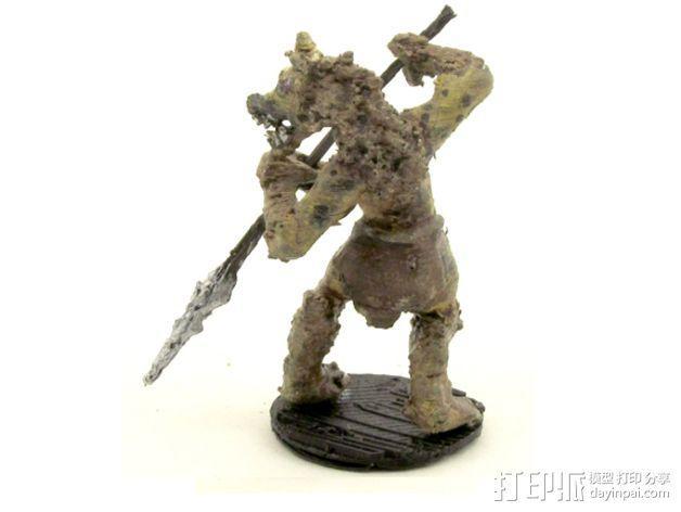 豺狼战士 3D模型  图3